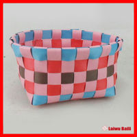 2014 fashion new PP woven plastic box for candy