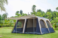 Factory sale cheaper 2 3 4 persons camping tent automatic family camping