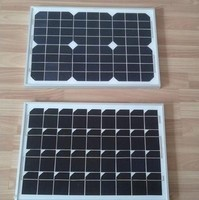 Cheap price!! 20W mono solar panels, small size solar PV module, solar cells 125x125 for home application