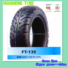 Motorcycle tire manufacturer 120/70-10 TL