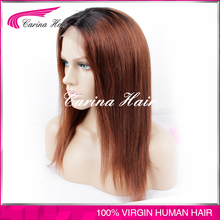 Carina Hair Products virgin indian remy full lace wig glueless full lace 100% human hair wig