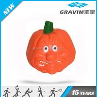 Pumpkin shape stress ball,Pumpkin shape PU foam ball,PU foam Pumpkin
