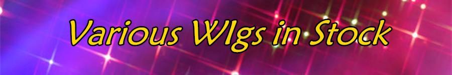 various wigs