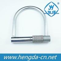 Anti-thief combination safety U-lock bike lock