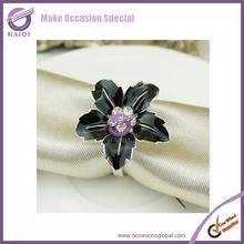 #16118 crystal diamond napkin ring/disposable napkin rings/clear acrylic napkin rings