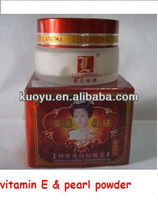 lulanjina whitening face cream,pearl powder beauty whitening & speckle-eliminating separate packaging white