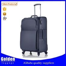 2015 popular ultra lightweight nylon fabric travel luggage best quality luggage trolley bag