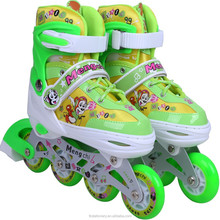 Fashion Boys stock china child inline speed skating shoes
