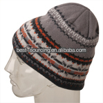 High quality Plain New style crochet beanie helmet