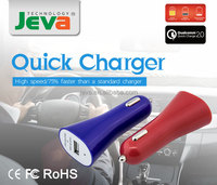 car charger wholesale 5V 2.4A or 9V 2A universal car USB charger with 9V 2A (18W) Quick Charge QC 2.0