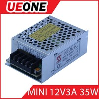 36w 12v 3A constant voltage switching power supply 12v led driver for led strip lights