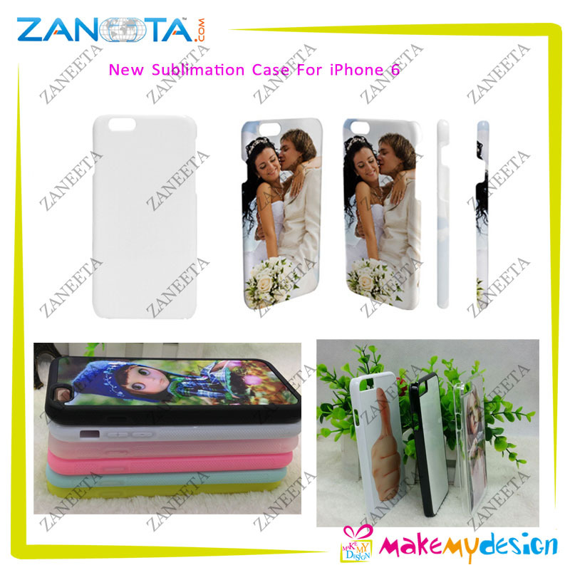 NEW ARRIVAL 3D Blank Sublimation Cell Phone Case For iPhone6