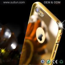 For Apple iPhone 5 aluminium mirror phone case metal bumper case for iPhone 5s mirror case