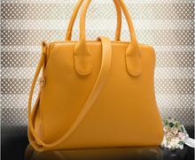 Alibaba China Yellow trendy cheap tote bag and shoulder bag