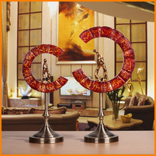 Opening gifts Lucky vestibule soft furnishings, home accessories living room ornaments decorations wine neoclassical ornaments