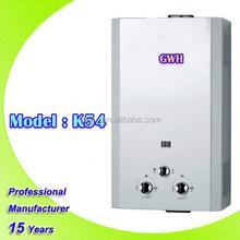 Hot Selling tankless water heater with low water pressure/ surya gas geyser/macro hot water heater