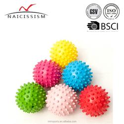 high density 9cm dia rubber massage ball