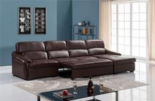 Living room furniture/leisure sectional sofa set/Sofa Bed/geuniue leather sofa 3720