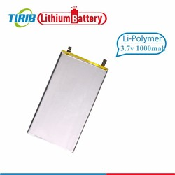 High Rate Li-polymer 3.7v rc Helicopter Battery 1000mah with 20C Deep Discharge