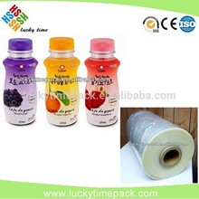 OPS printed hot shrink film for bottle/cup