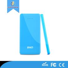 portable usb Mobile Universal power bank for xiaomi 5000mah Li-polymer battery charger power bank for phone