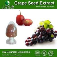 GMP&ISO High Quality Grape Seed P.E. High Quality Grape Seed Extract Grape Fruit Seed Extract