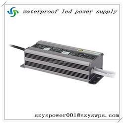 80w 220v 12v ac/dc led transformer waterproof ip67 moso power supply