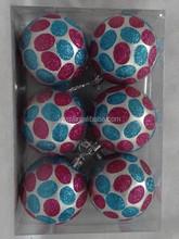 decorating christmas big balls hollow plastic balls 6cm christmas ball