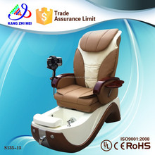 2014 wholesale fiberglass used electric foot massage spa chair pipeless used electric foot massage sofa chair (KM-S135-15)