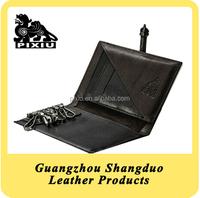 High Quality Customizable Genuine Soft Leather Key Holder Case