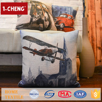 Houseware Creative Vintage Pattern Printed Pillows Case Home Decor Sofa Cushions Covers Embroidery Design