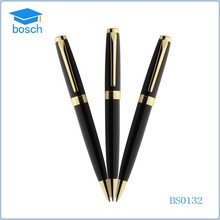 China wholesale fashion gold clip bussiness metal ball point pen