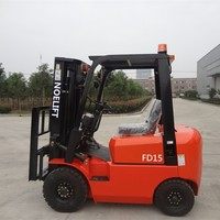 Zhejiang reliable 1.5 ton forklift truck for sale with safety belt and arm chair,Side shifter forklifts