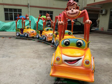 Western country cheap outdoor indoor kids amusement ride electric train