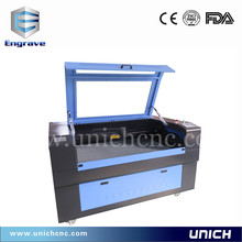 Discount price cnc laser carving machine/acrylic and rubber sheet cutting machine/rubber stamp laser engraving machine
