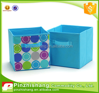 custom nonwoven foldable clothes storage box