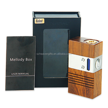 In stock Eternal Melody box mod 40w TC Melody Wooden mod box watt