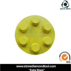 "3"" Velcro Backing Dots Concrete Diamond Resin Polishing Pad"