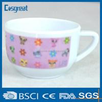 100% plastic melamine mugs