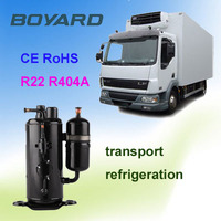 small fridge cooling unit freezer compressor r404a QXD-30K 2 HP ce rohs approved for blast freezer Meat Industrial Freezer