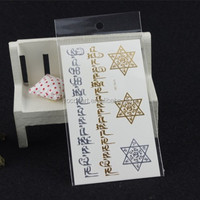 Vh99/Fashion retail&wholesale jewelry buying temporary metallic flash tattoo from Rocoo
