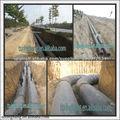 espuma de poliuretano directamente enterrada insultaing tubo de acero
