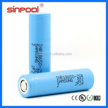 Wholesale Authentic Samsung 25R 18650 samsung icr18650-24e 2400mah
