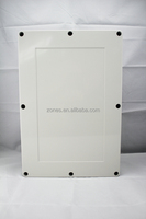 ip66 plastic electrical outlet box housing size