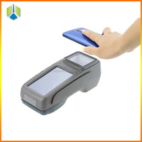 Mobile handheld pos machine with SIM card/wifi/android ,RFID /IC card reader. for E-ticket,E-vouche application --Gc028+