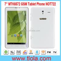 7 inch Dual Core Dual Camera Flashlight WIFI Bluetooth GPS FM TV GSM Mobile Phone Tablet