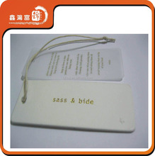 High quality custom garment hang tags for clothing