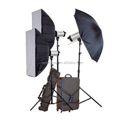 Fancy Factory Direct Dimmable Photography Equipment Portable Softbox Lighting Kit