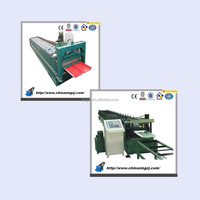 roofing sheet profiling machine double layer corrugated roofing sheet machine