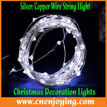 Led Mini Copper Wire String Lights/Patio String Lights Curtains for Wedding